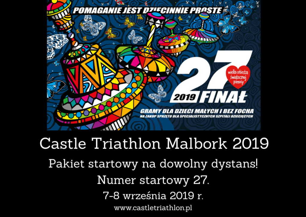 27. numer startowy na Castle Triathlon Malbork