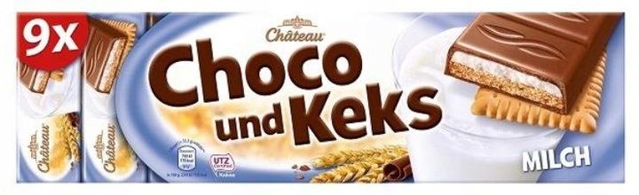 CHOCEUR CHOCO UND KEKS ciastko krem czekolada DE