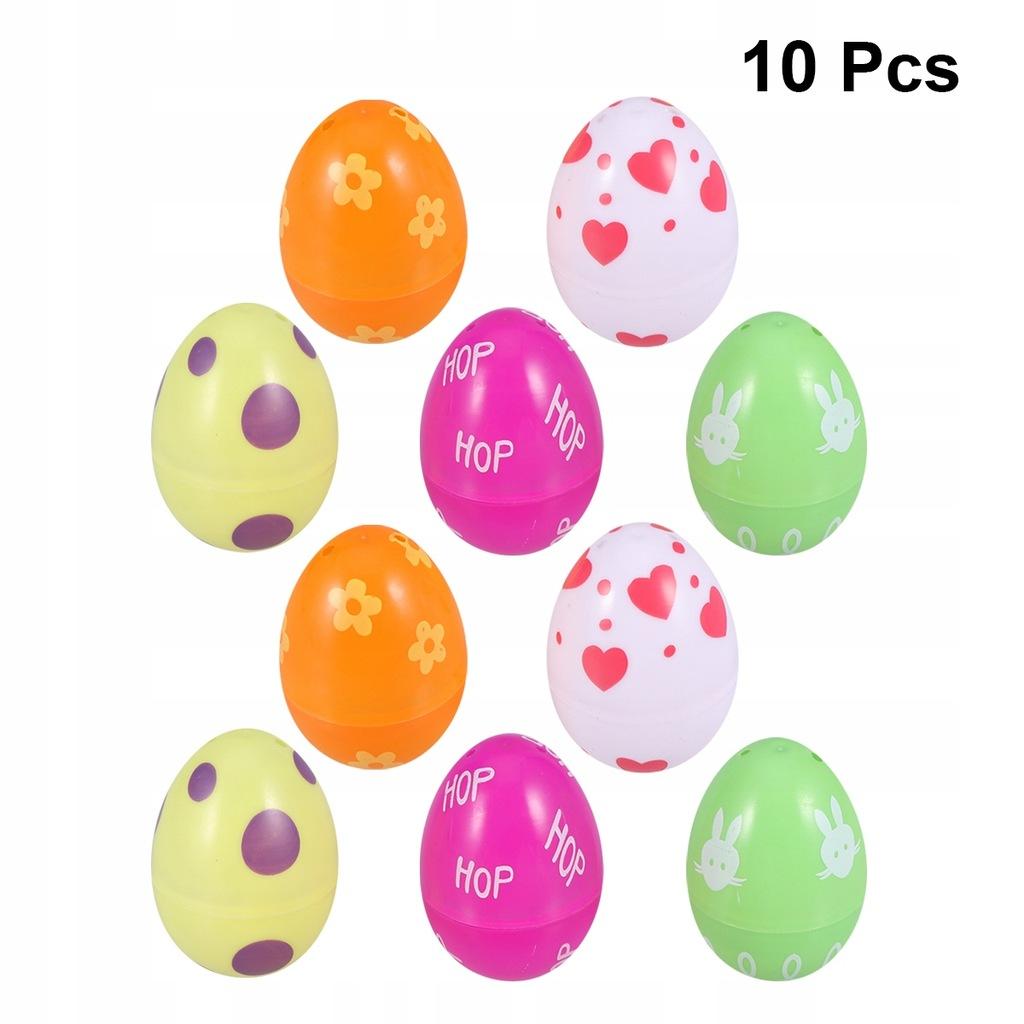 10 sztuk Kolorowe Otwarte Jajko Zabawki Symuluj