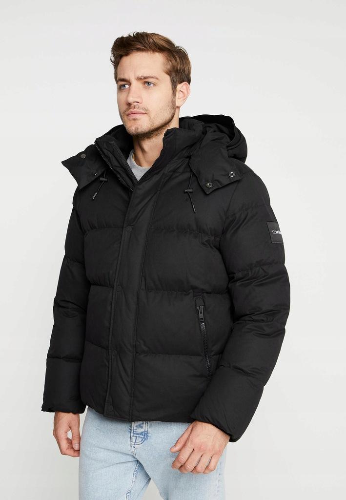 AG D235 CALVIN KLEIN czarna kurtka zimowa XL