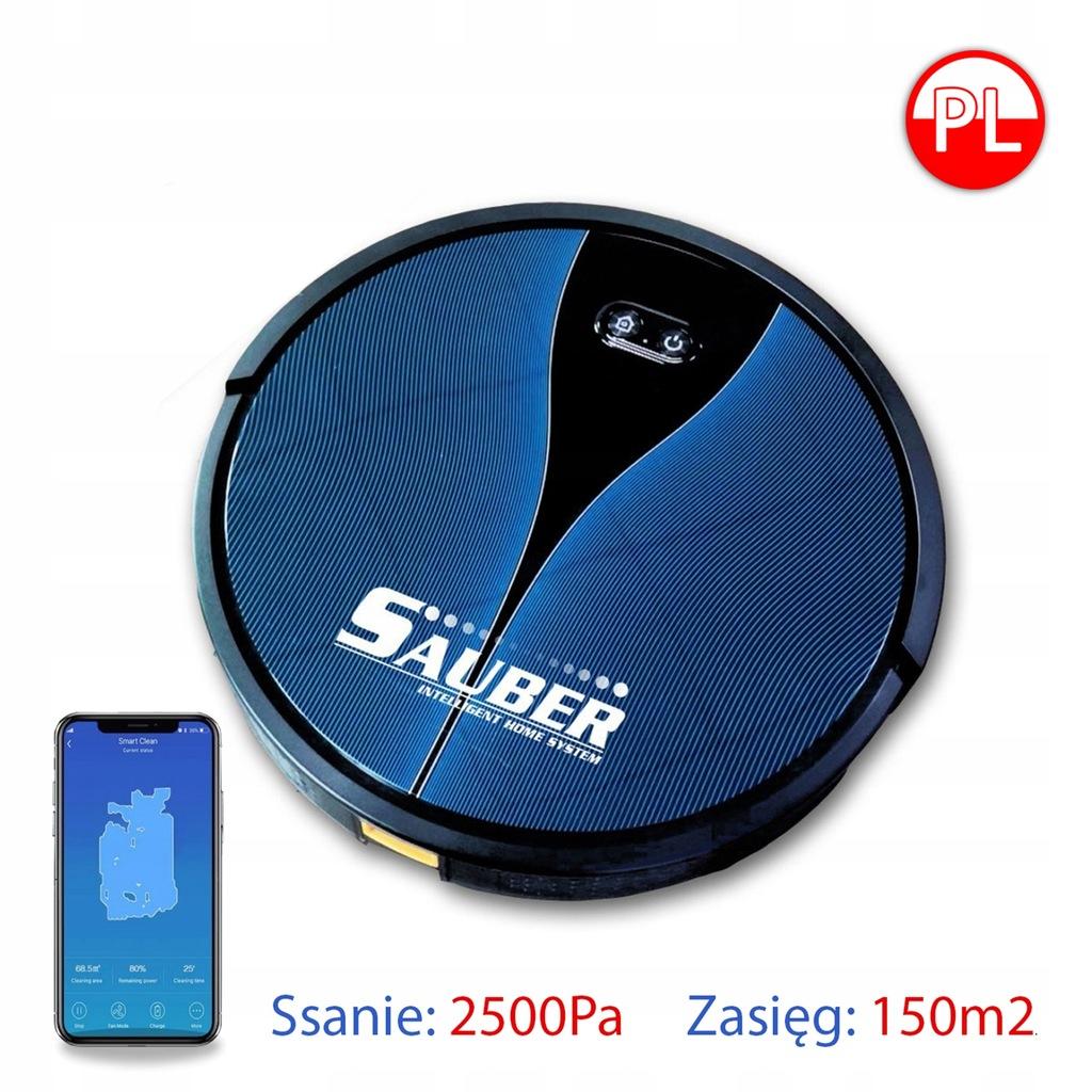 ROBOT ODKURZAJĄCY MOPUJĄCY Sauber LX11 / S6 / i7