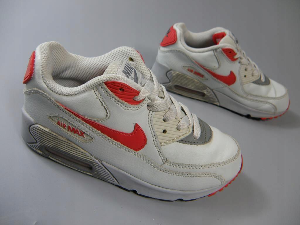 NIKE AIR MAX 90 skórzane buty sportowe 33,5