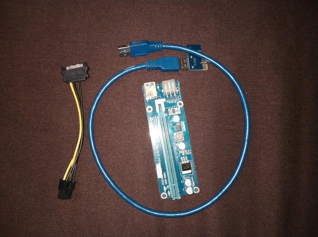 008C LED RISER USB GRUBY KABEL