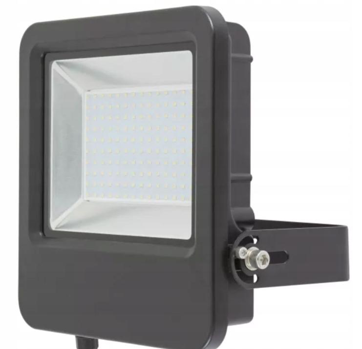 HALOGEN LED 100 W 10000 lm 5000 K czarny BLOOMA