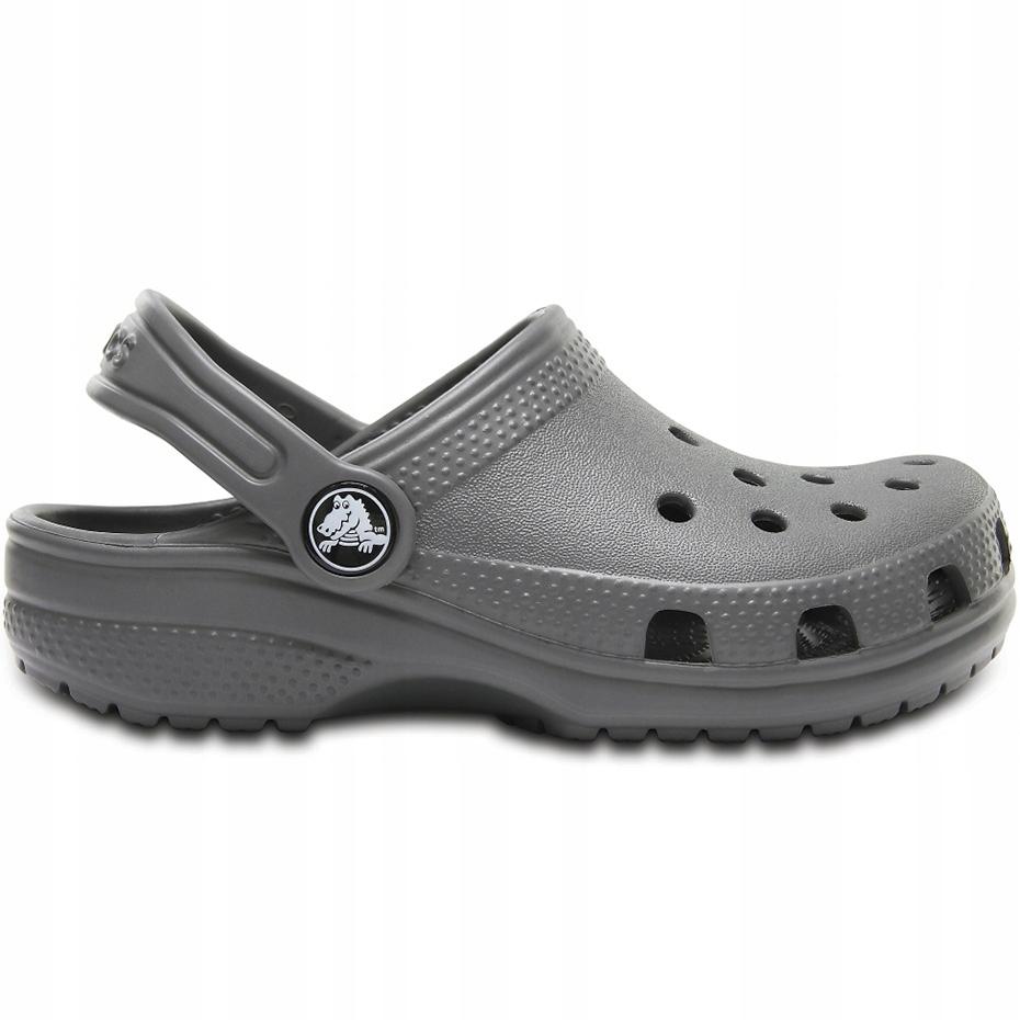 Crocs dla dzieci Crocband Classic Clog K Kids szar