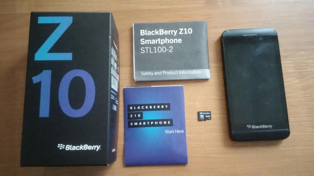 Smartfon BlackBerry Z10 # Stl100-2