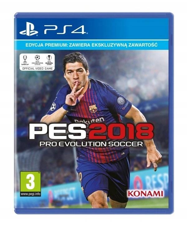 Pro Evolution Soccer PES2018 Premium Edition ! PS4