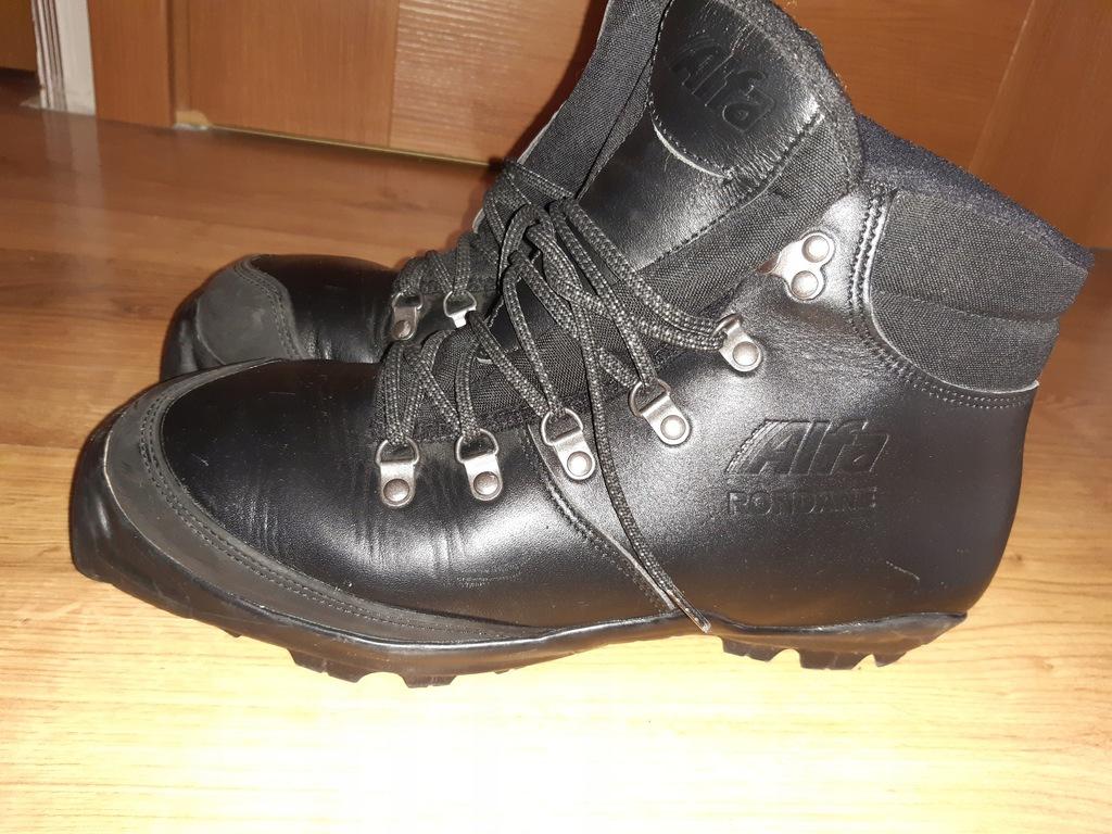 Buty narciarskie skórzane Alfa Rondane 42