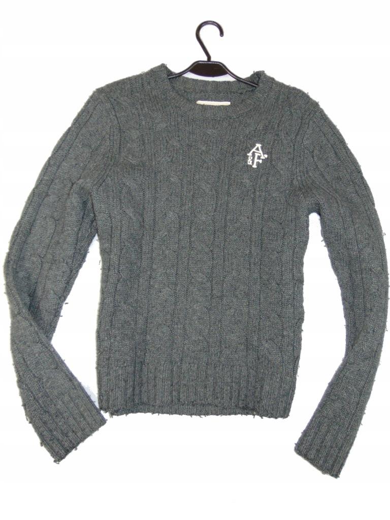 ABERCROMBIE&FITCH sweter męski JODEŁKA r M