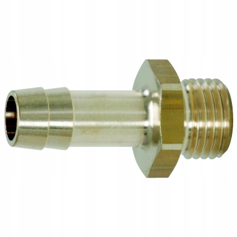 Mosiężne złącze z gwintem zewnętrznym,G3/8 AGx9mm
