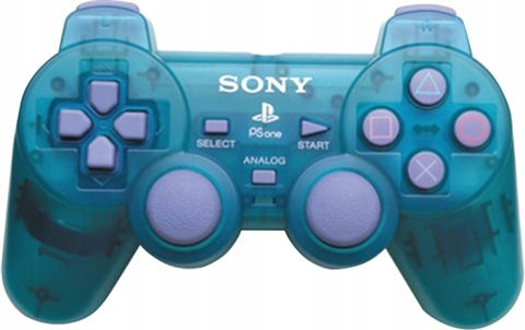 Sony PSX PAD DUALSHOCK CLEAR EMERALD GREEN PS1