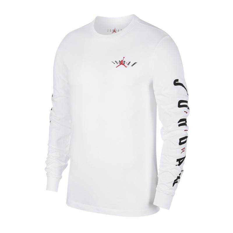 Nike Jordan Air Swerve t-shirt dł. rękaw 100 L!