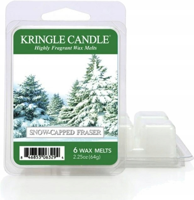 KRINGLE CANDLE SNOW CAPPED FRASER WOSK (64G)