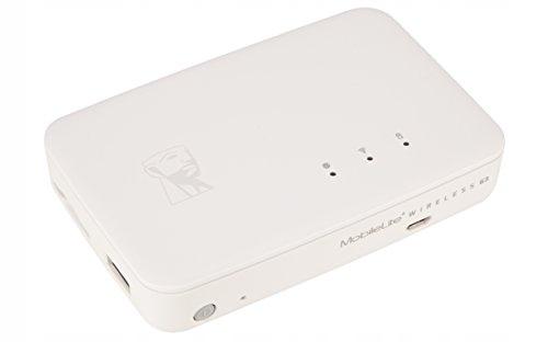 Czytnik kart SD powerbank 5400mAh WiFi Kingston