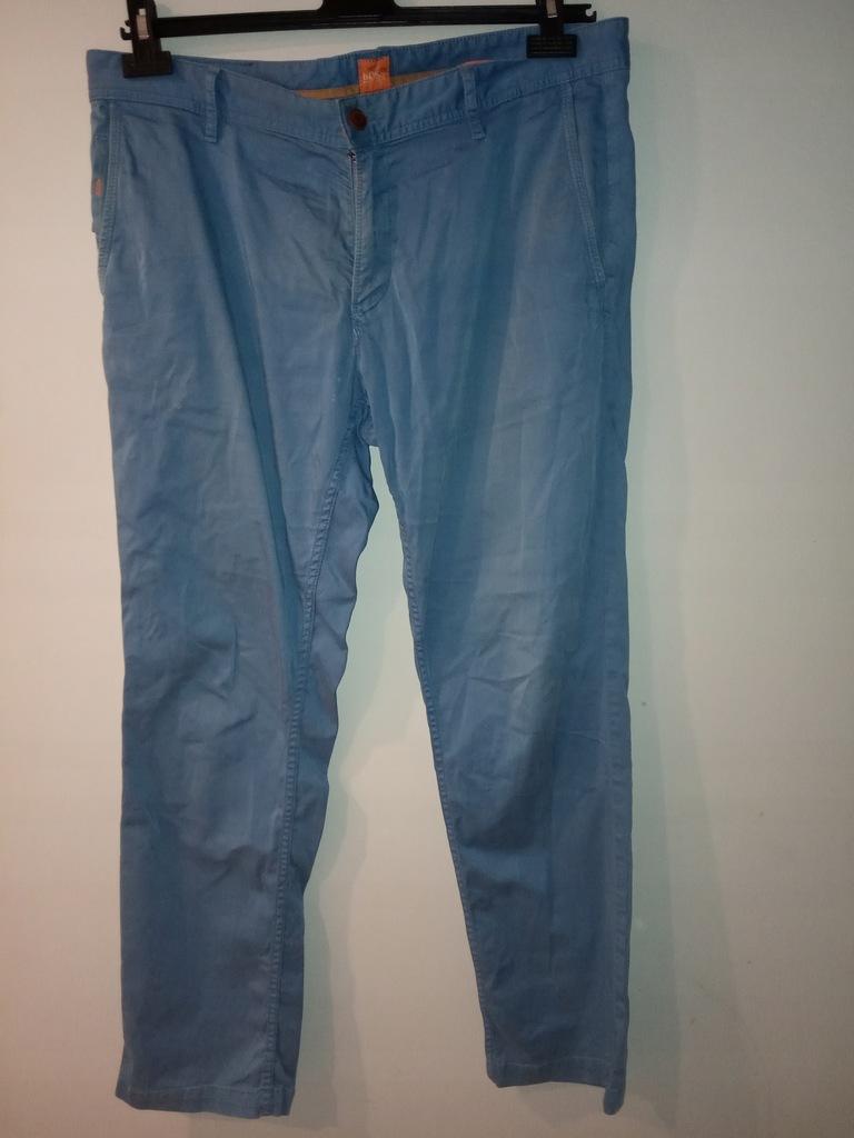 HUGO BOSS niebieskie spodnie 36