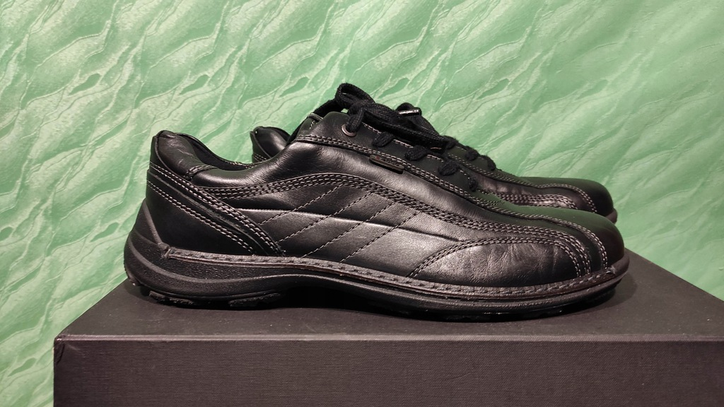 ECCO buty skórzane męskie półbuty roz. 44