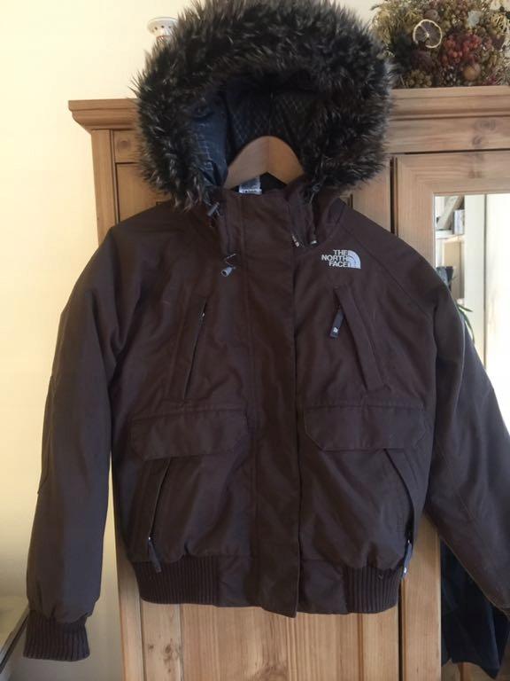 The North Face kurtka z gęsiego puchu rozmiar S