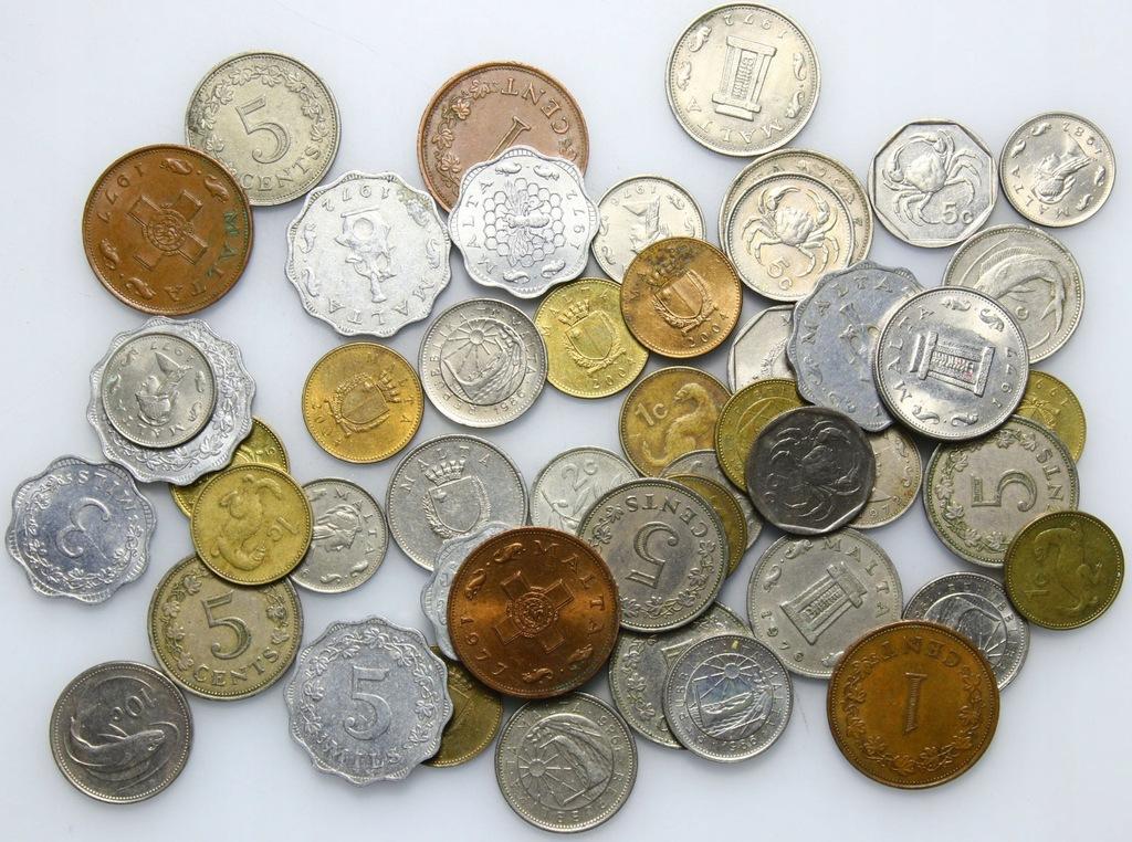 LOT - Malta - 50 monet - zestaw F
