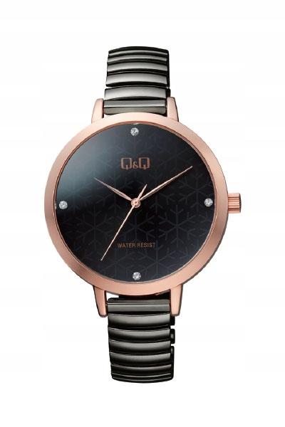 1 Zegarek Damski Q&q Kolor tarczy: Szary damskie