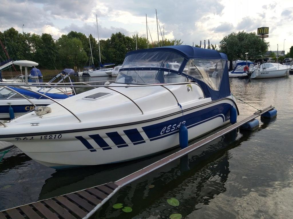 Jacht Delfin 650 Yamaha 150km