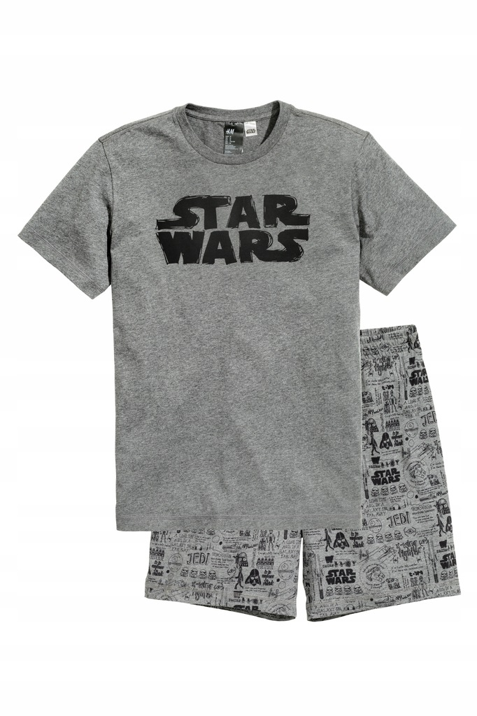 H&M Piżama T-shirt i 2x szorty rozm.M