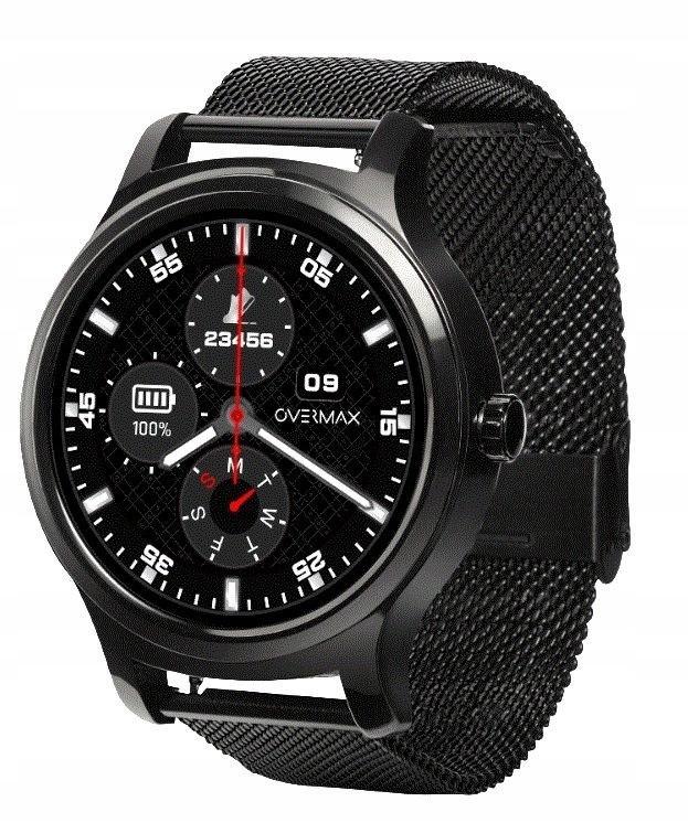 OVERMAX Smartwatch Touch 2.6 Black 3xPasek BLT IP6