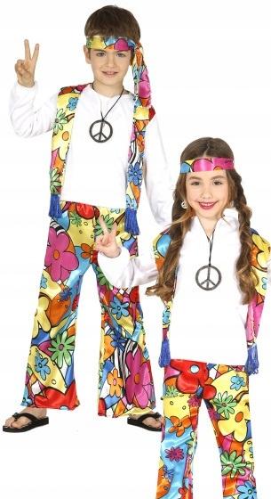 Fiestas Guirca kostium Hippie junior biały rozmiar