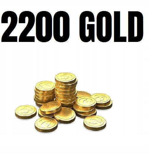 2200 ZŁOTO GOLD DUBLONY WORLD OF TANKS WOT WARSHIP