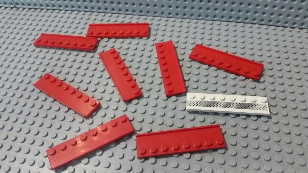 LEGO prowadnica 1x8 30586