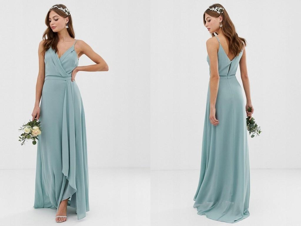 TFNC - Ekskluzywna szyfonowa sukienka S/36