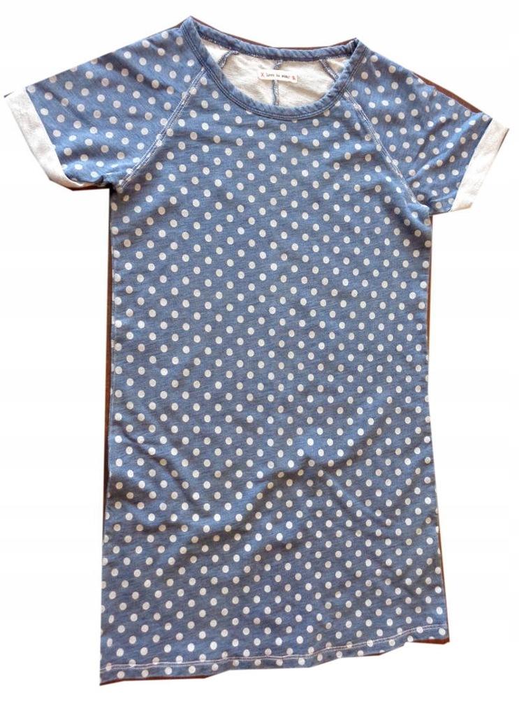 NEXT ala jeansowa FAJNA sukienka DAMA 134