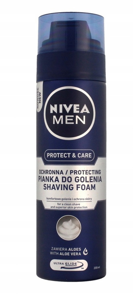 NIVEA MEN Pianka do golenia OCHRONNA
