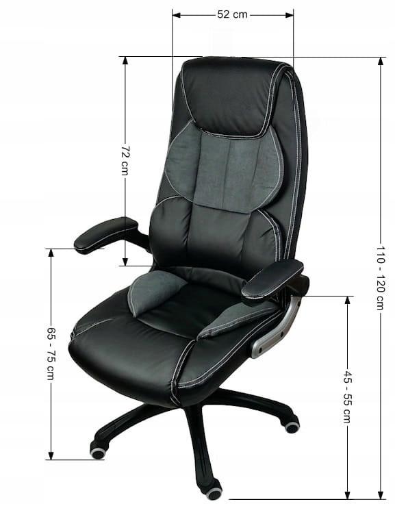 FOTEL BIUROWY OBROTOWY krzesło biurowe X8 7711177090