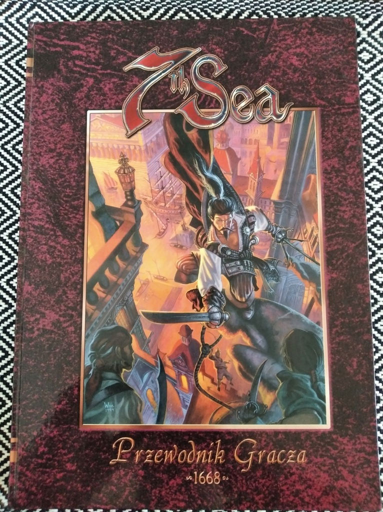 7th Sea Podręcznik Gracza + Przewodnik MG UNIKAT