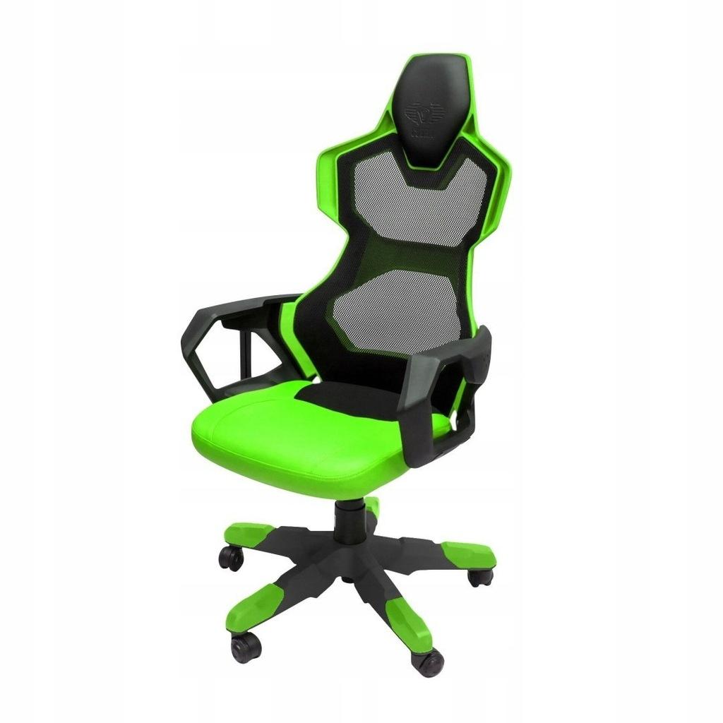Dla gracza fotel E-Blue COBRA AIR, zielony, oddych