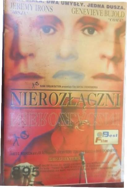Nierozłączni - Jeremy Irons Genevieve Bujold VHS