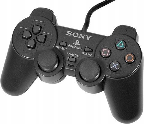 Sony Playstation OFICJALNY PAD DUALSHOCK BLACK PS1