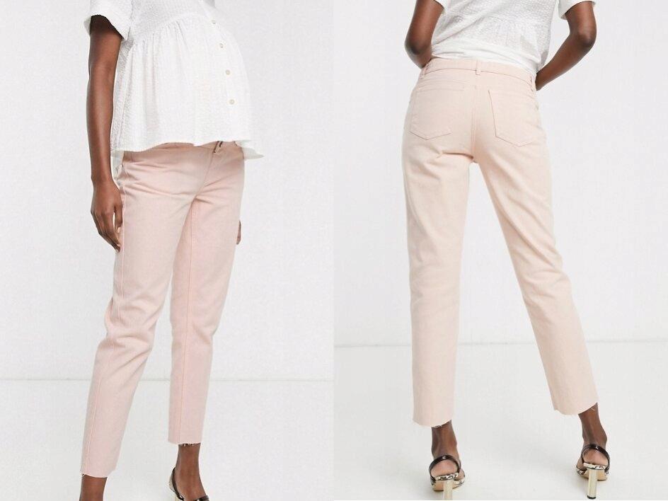 DESIGN Maternity Mom Jeans Ciążowe S/36