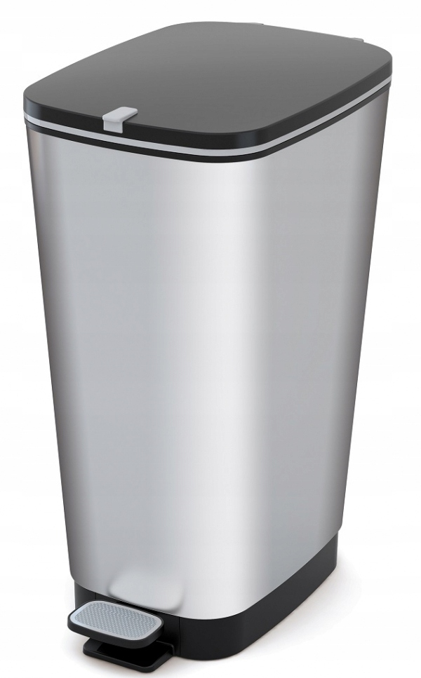 KIS CHIC BIN L 60L STEEL Kosz na śmieci z pedałem