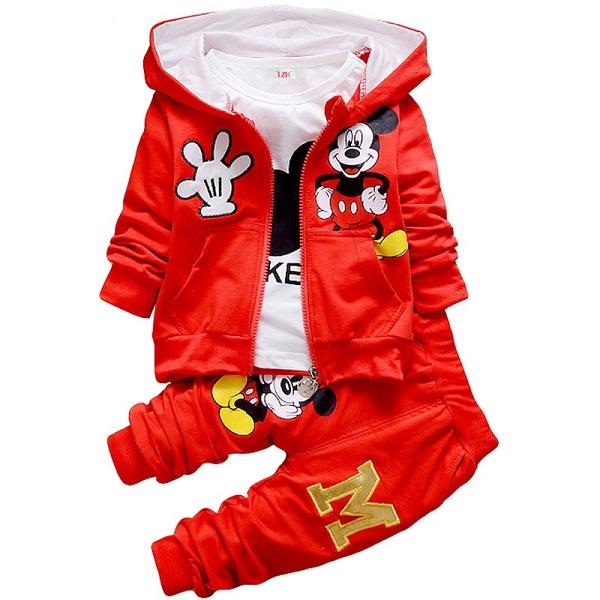 3-częściowy Komplet Dres Mickey 98