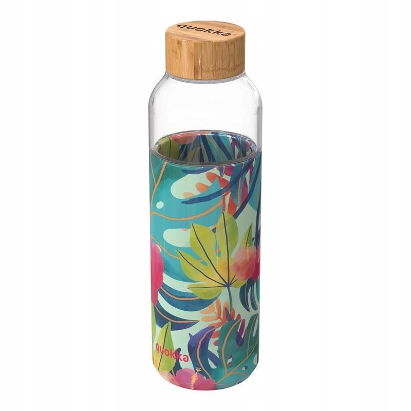 Quokka Flow - Butelka na wodę ze szkła 660 ml (Tro