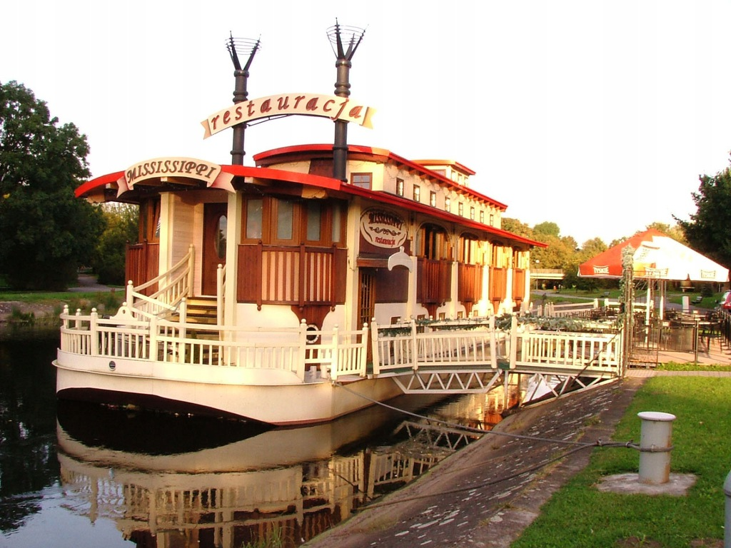 Barka, obiekt pływający, restauracja pływająca