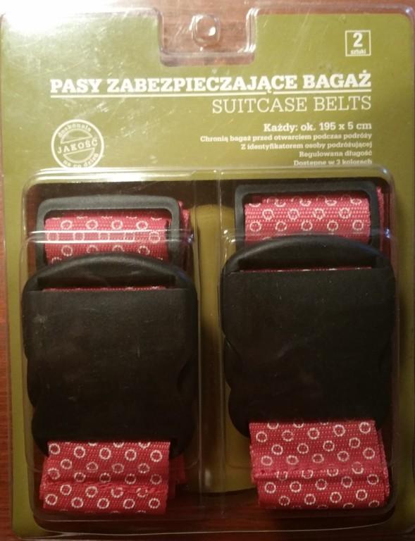Pasek spinający do walizki, bagażu, 2szt. Nowe