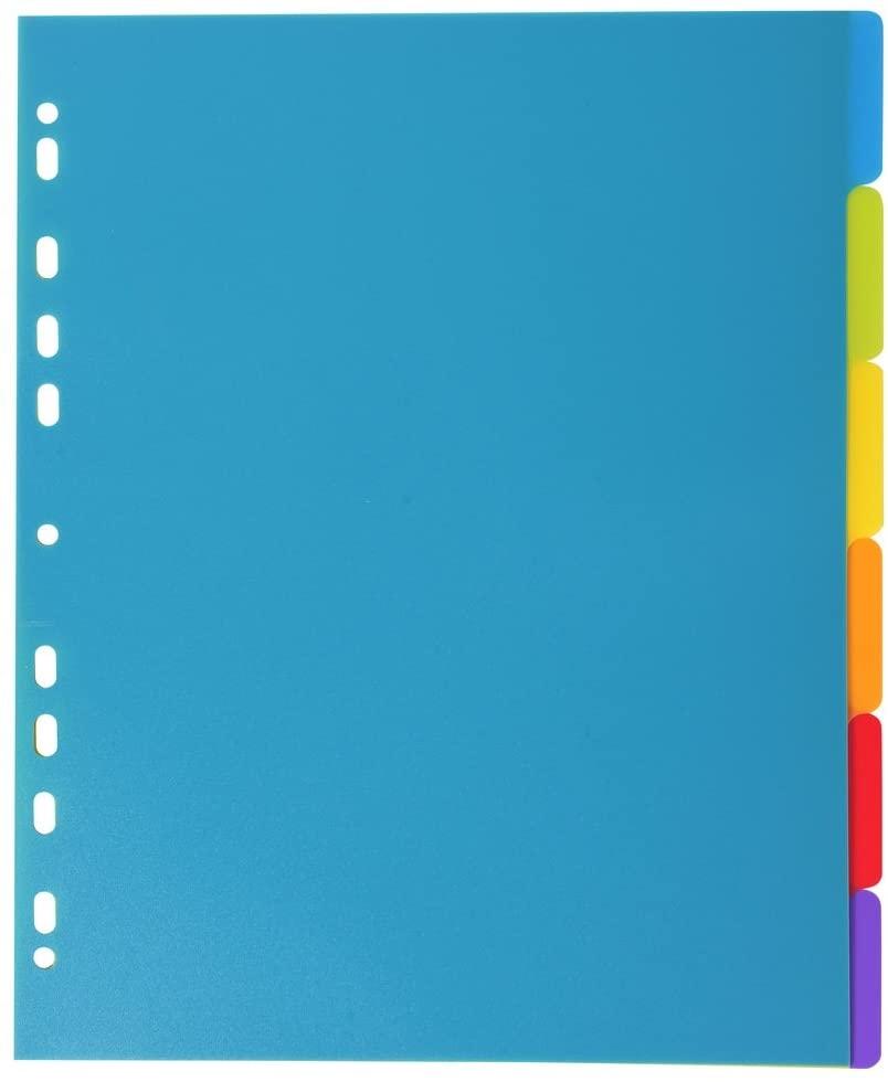Skoroszyt folder na dokumenty Exacompta 6 sztuk