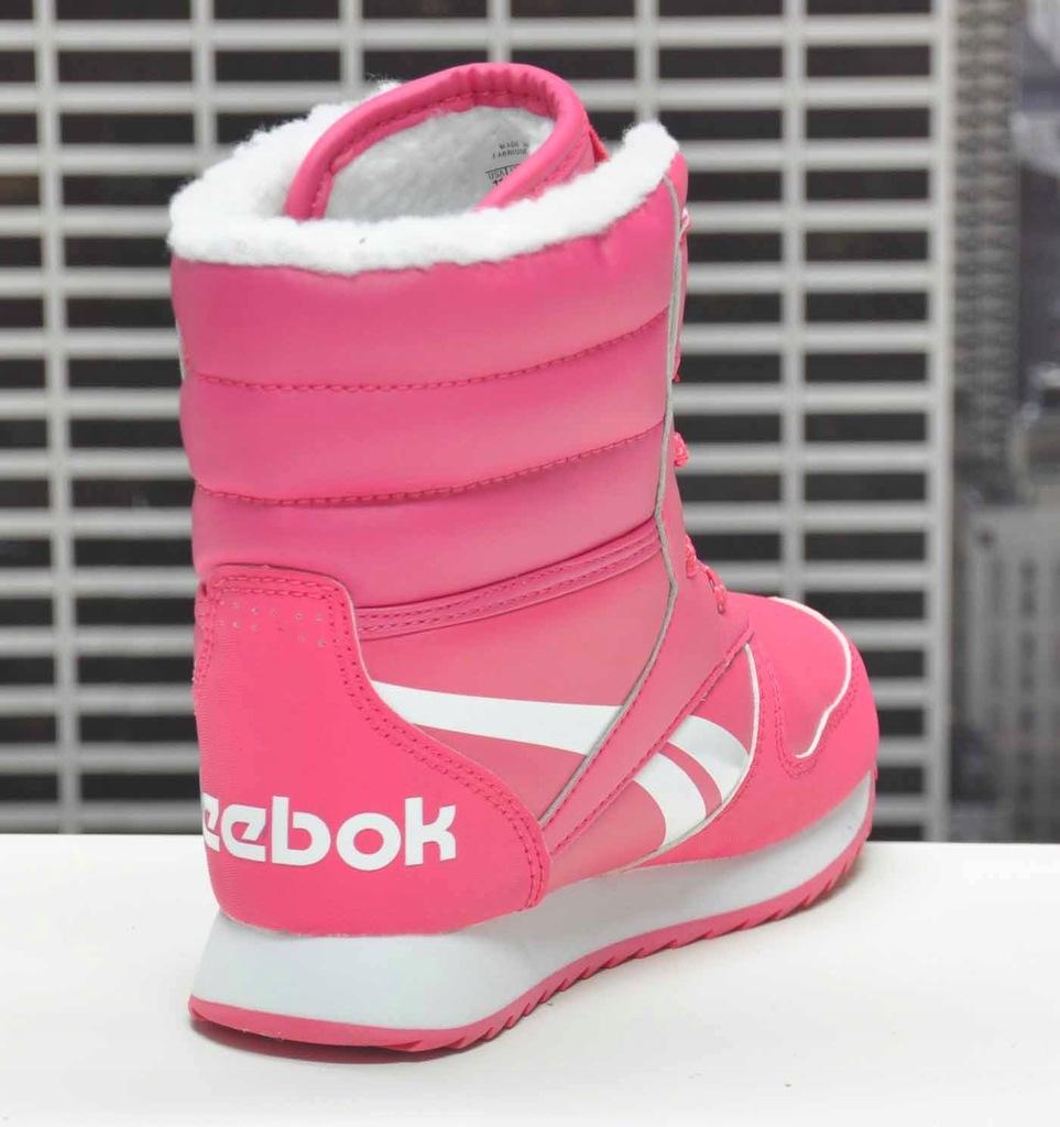 BUTY dziecięce REEBOK SNOW JOGGER CN4629 31,5 zima