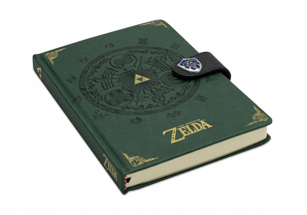 The Legend Of Zelda Medallion gamingowy notes A5