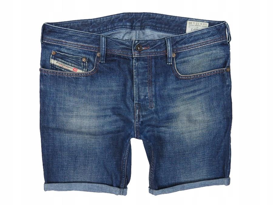 DIESEL ZATHAN krótkie spodenki jeansowe męskie 90