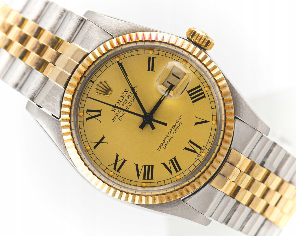 ROLEX OYSTER PERPETUAL DATEJUST REF.16013 FULL SET
