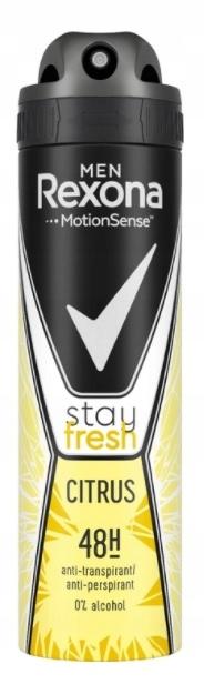 Rexona Men Stay Fresh Citrus Antyperspirant 150ml