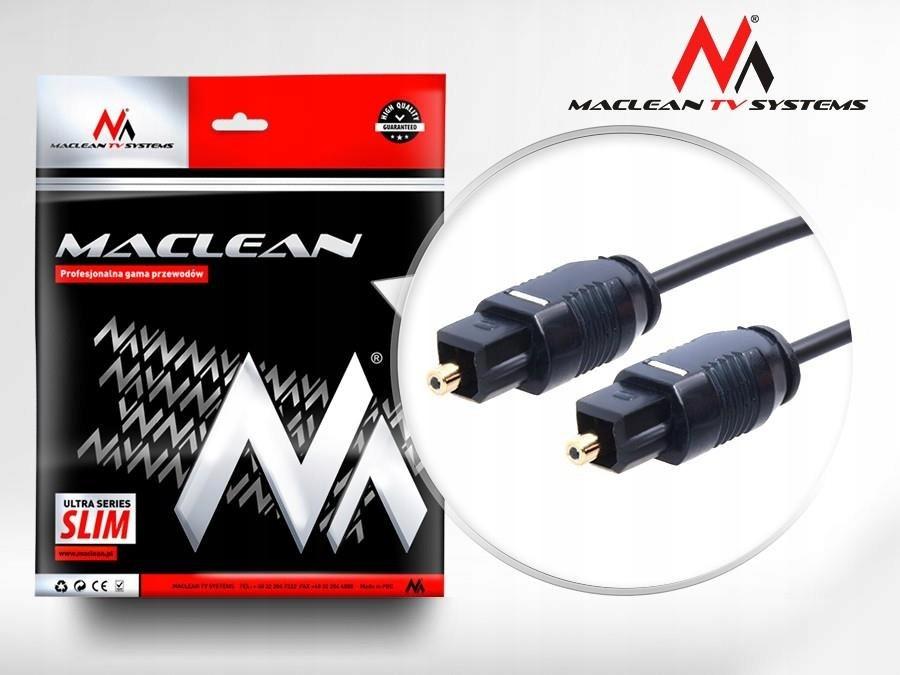 Kabel audio Maclean MCTV-751 Toslink (M) - Toslink